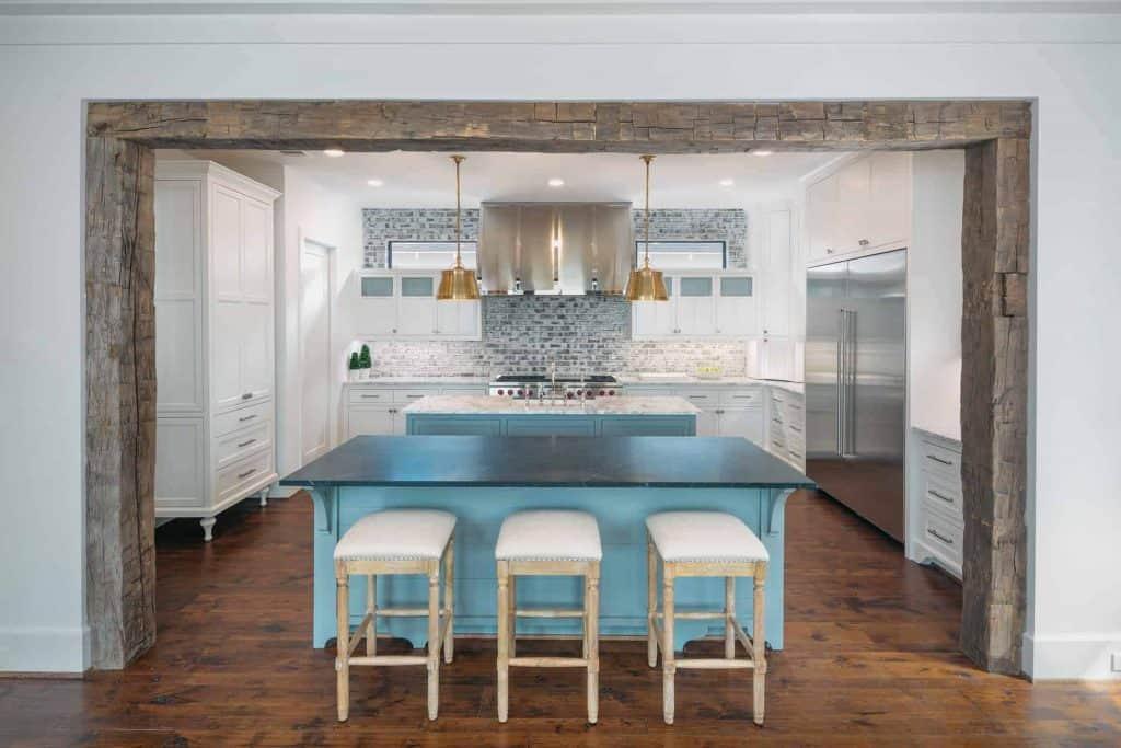 farmhouse-kitchen-reclaimed-barn-beams