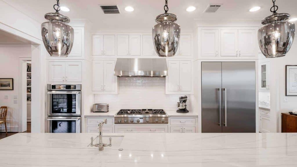 Craftsman Kitchen Island Marble