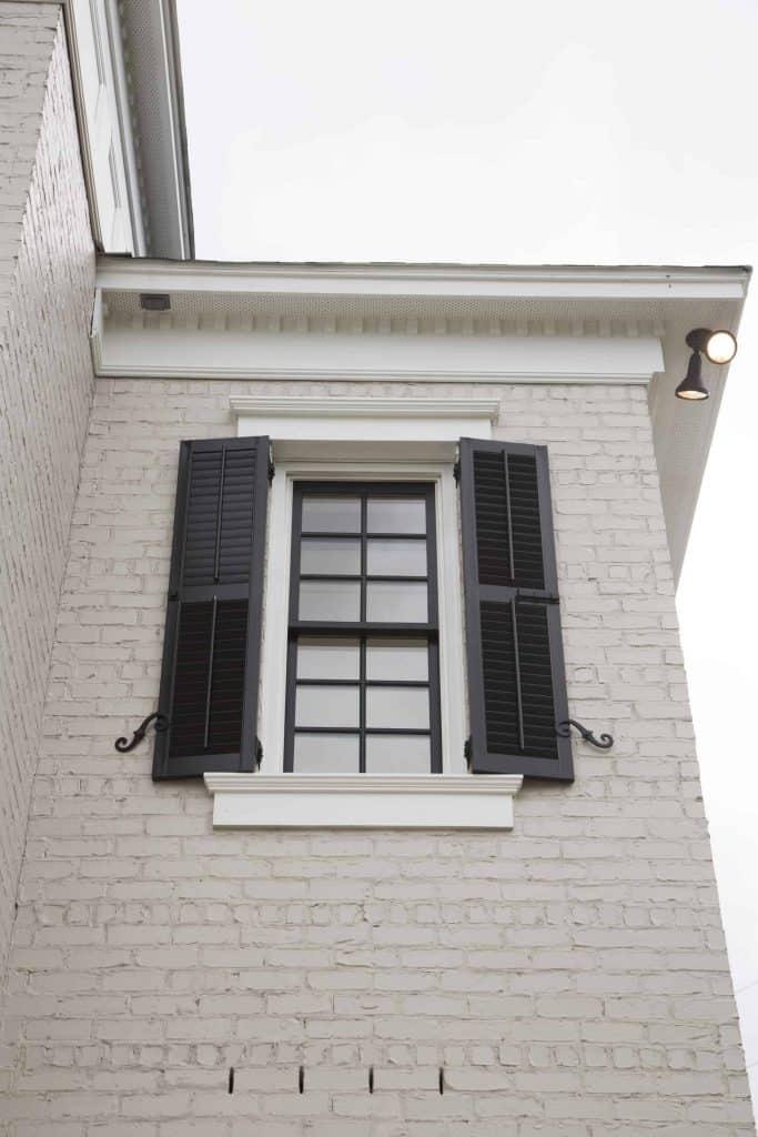 Charleston Exterior Window Shutters